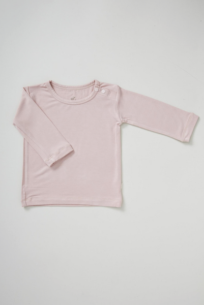 Boody Long Sleeve Top Rose.png