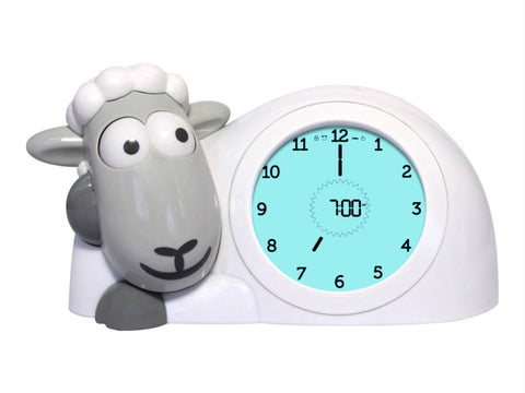 Zazu - Sam Sleep Trainer Clock  - Grey