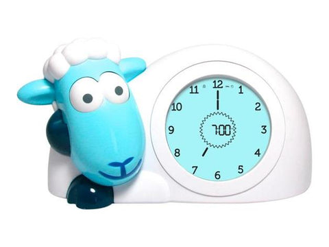 Zazu - Sam Sleep Trainer Clock  - Blue