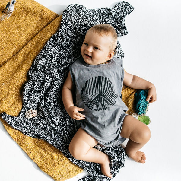Children of the Tribe | Fortune Singlet Onesie | Lost Desert