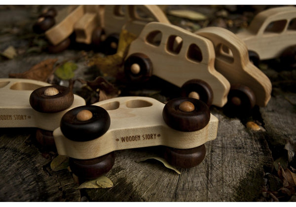 Wooden Story Car - 30s Car