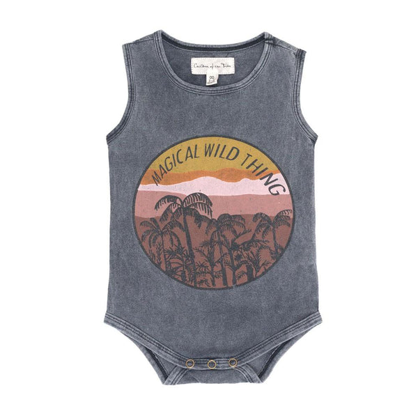 MAGICAL WILD THING SINGLET ONESIE | WILD EARTH