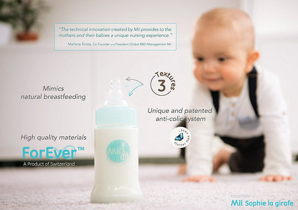 Sophie the Giraffe | Mii Feeding Bottle | Forever 150ml