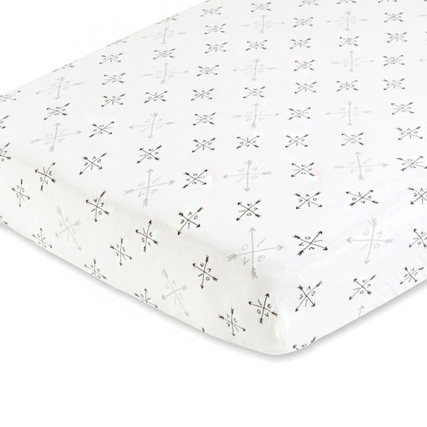 Aden + Anais | Lovestruck Love Classic | Single Cot Sheet