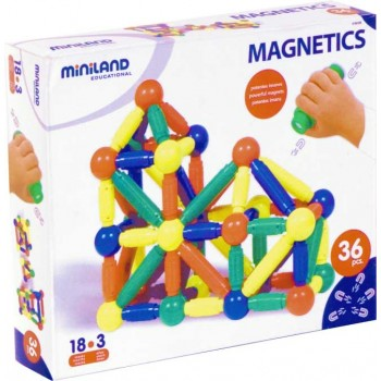 Magnetics | Educational Building Set - 36 pcs