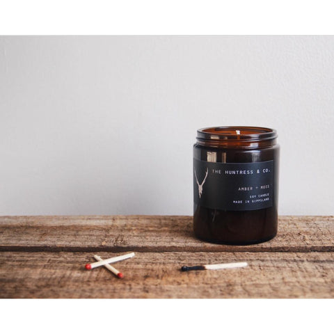 Amber+Moss | Hand Poured Soy Candle