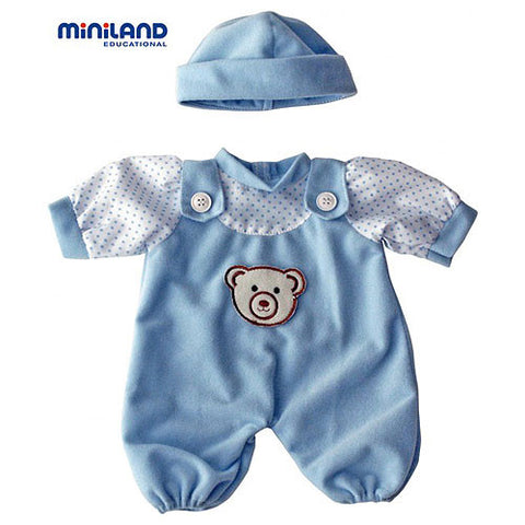 Blue Pyjamas Mainland Doll 21cm