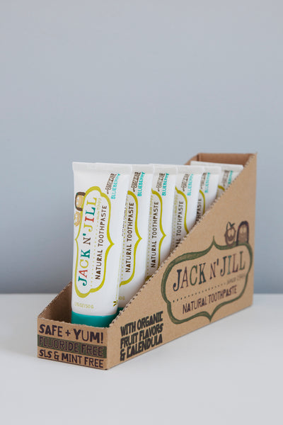 Jack n' Jill Organic Toothpaste | BLUEBERRY