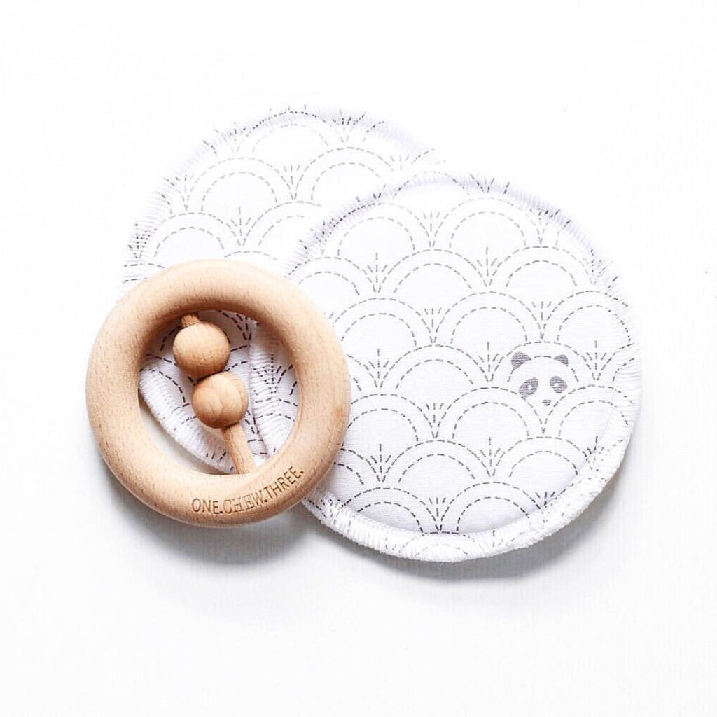Peekaboo Panda | Reusable Eco Breastfeeding Pads
