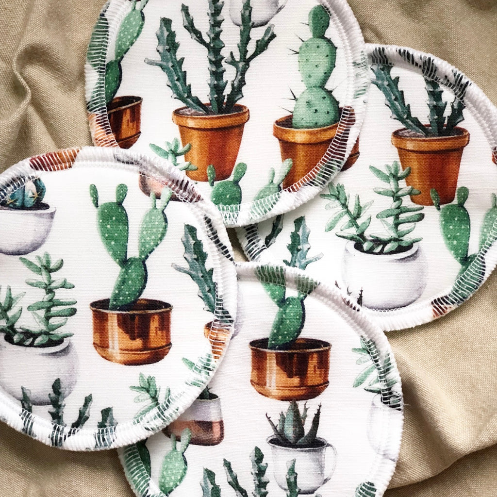 Potted Plants | Reusable Eco Breastfeeding Pads