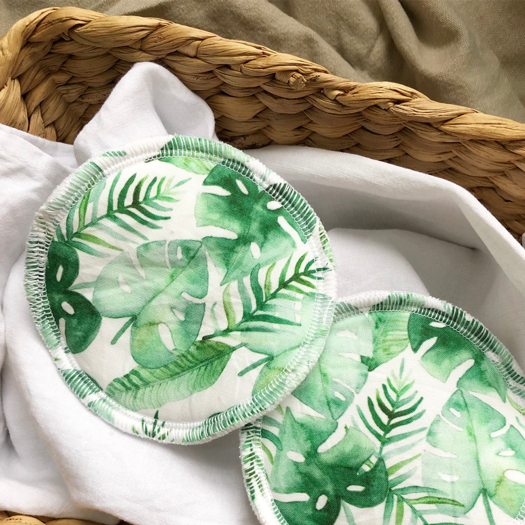 Lush Rainforest | Reusable Eco Breastfeeding Pads