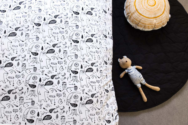 Babee & Me | Wild Things Organic Cotton Doona Cover and Pillowcase Set – Single
