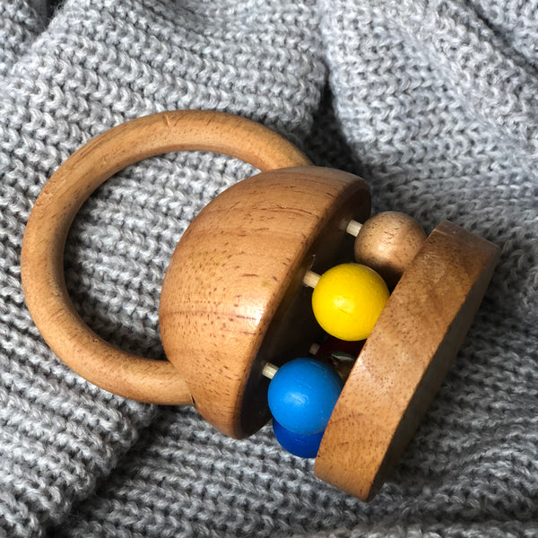 Ding Dong Bell Rattle | Wooden Toy