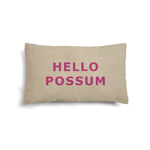 Make Me Iconic | Hello Possum Cushion