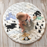 Kippi Organic Play Mat | Colour