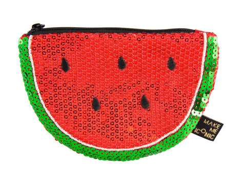 Make Me Iconic | Watermelon | Sequin Purse