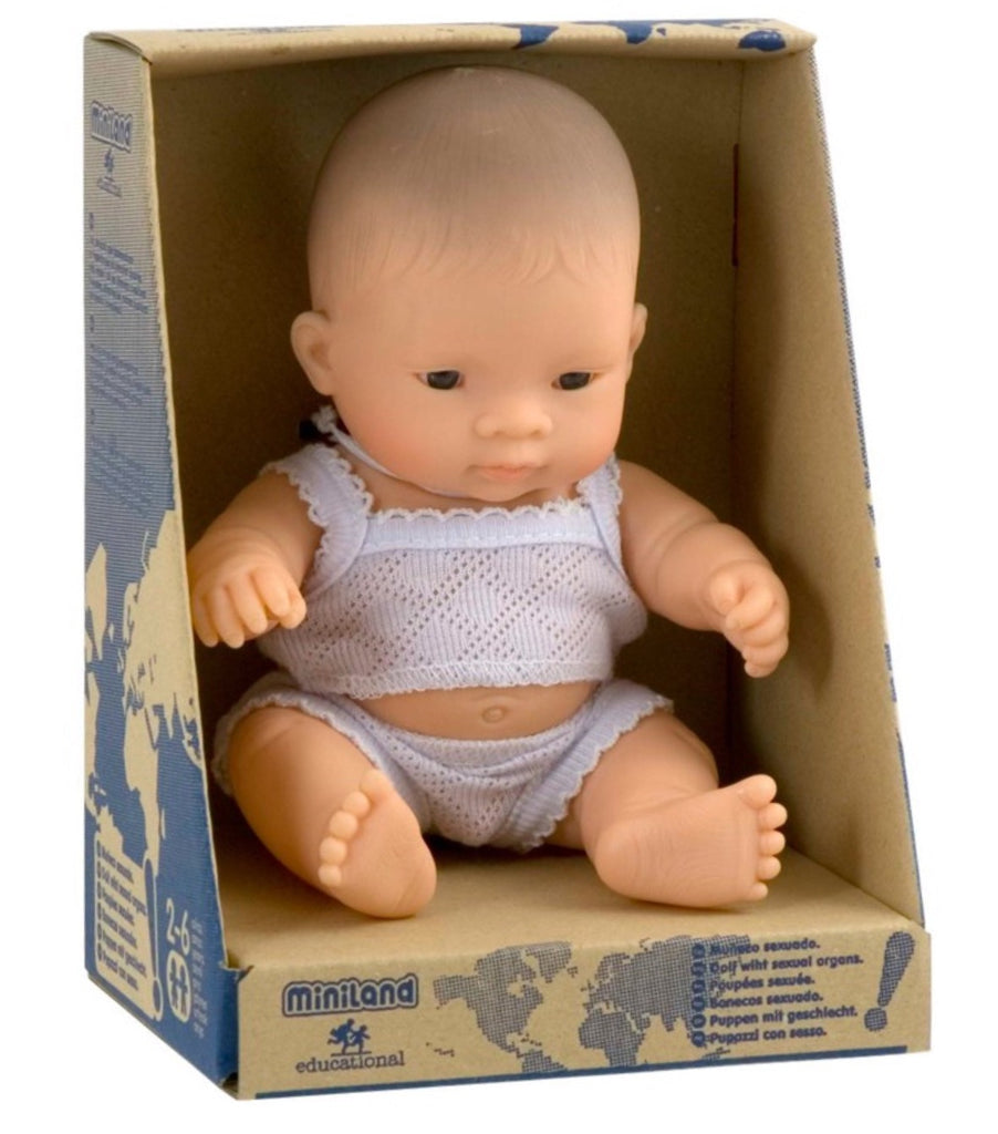 Newborn Baby | Asian Boy | 21cm Doll