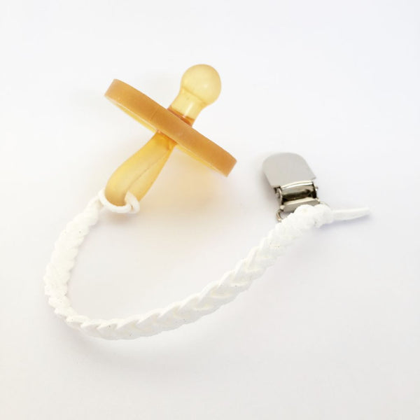 Snow White | Dummy Clip | Braided Faux Leather