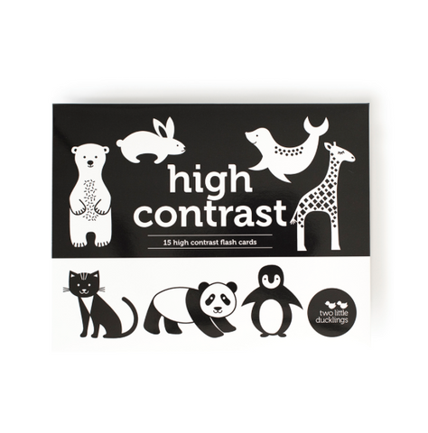 High Contrast | Flash Cards