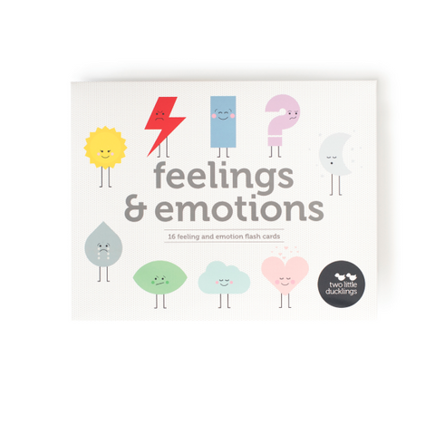 Feelings + Emotions | Flash Cards Two Little Ducklings