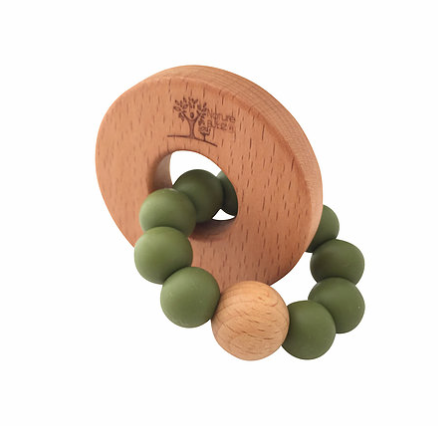 Olive + Natural | Teether
