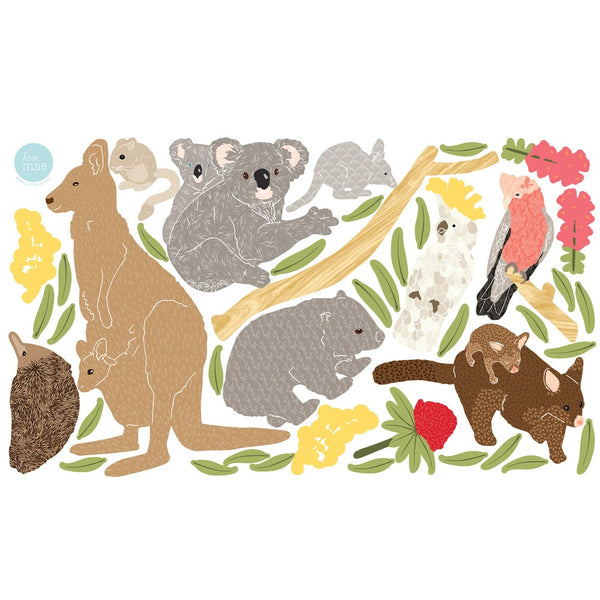 Australiana | Fabric Wall Decal