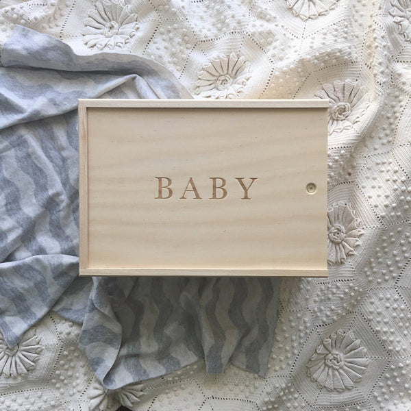 Write To Me | Baby Keepsake Box
