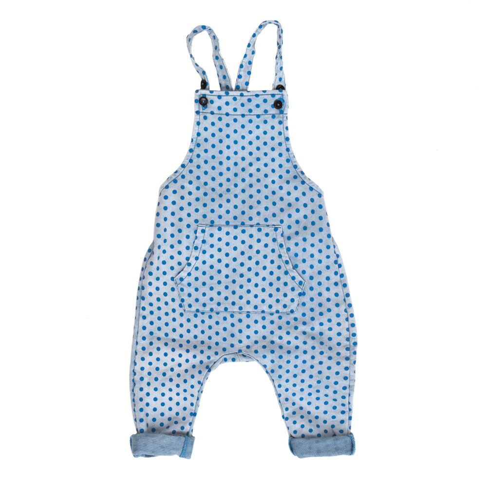 Chambray Stone Overalls | Children Of The Tribe