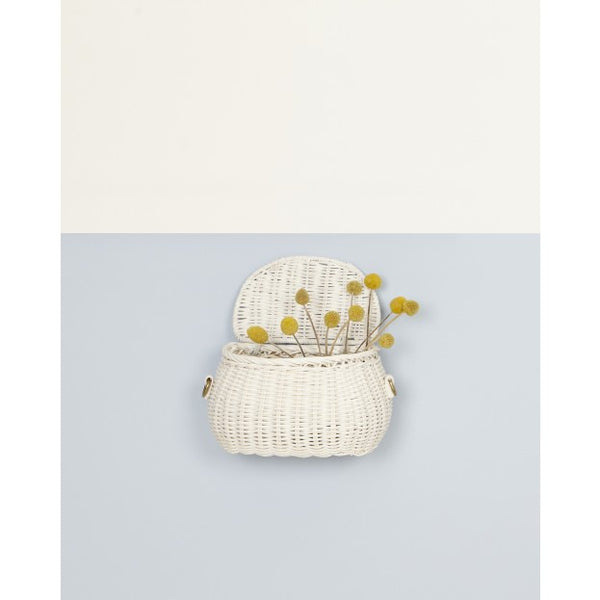 Olliella | Minichari Bag - White