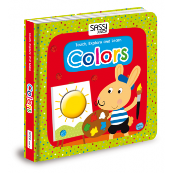 Sassi Junior Touch Explore and Learn Colours