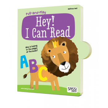 Sassi Junior | Pull and Play Hey! I Can Read Book