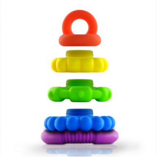 Rainbow Teether | Baby Stacker Toy