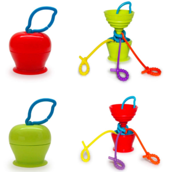 Grapple | Compact + Suctioned Toy Saver Holder