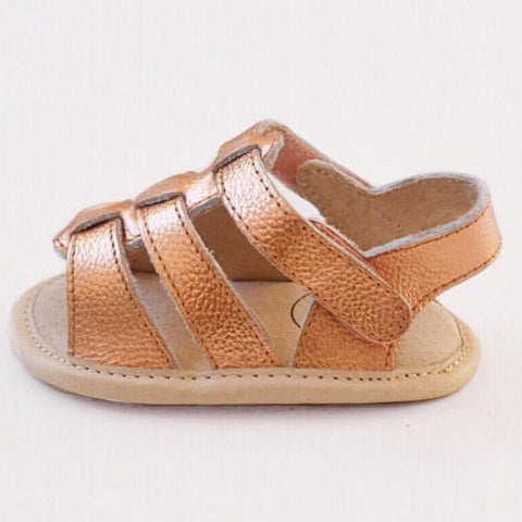 Amalfi Sandal | Rose Gold