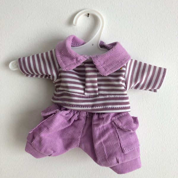 Shorts & Top Outfit | 21cm Newborn Doll Clothes
