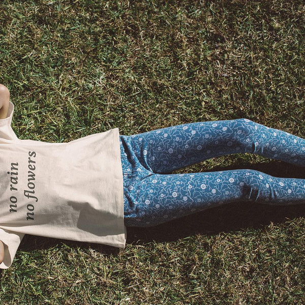 FLOWER VINE LEGGINGS | WILD EARTH