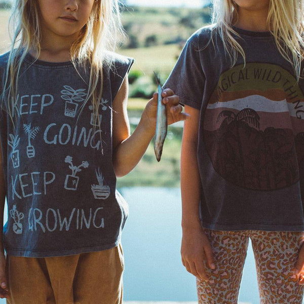 KEEP GROWING MUSCLE TEE | WILD EARTH