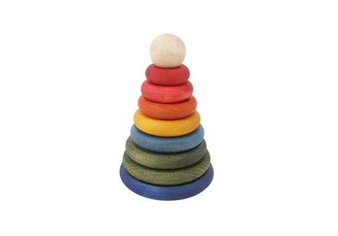Wooden Story | Rainbow Round Stacker