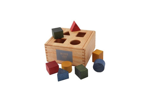 Wooden Story | Shape Sorting Box