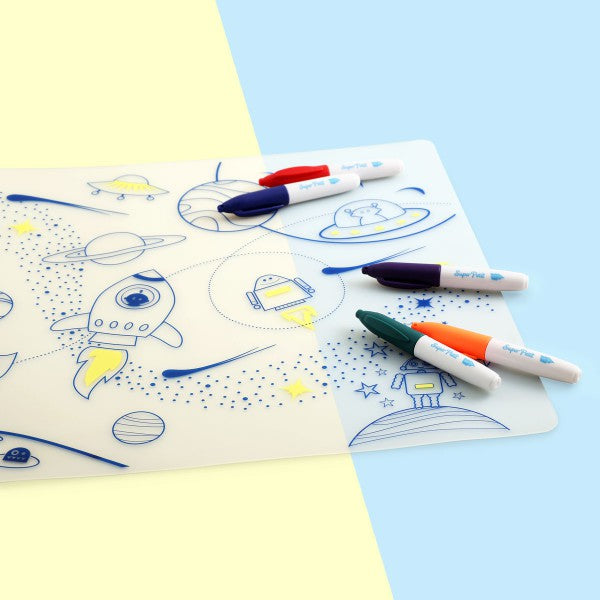 SuperPetit Table Mat Set | Into Space