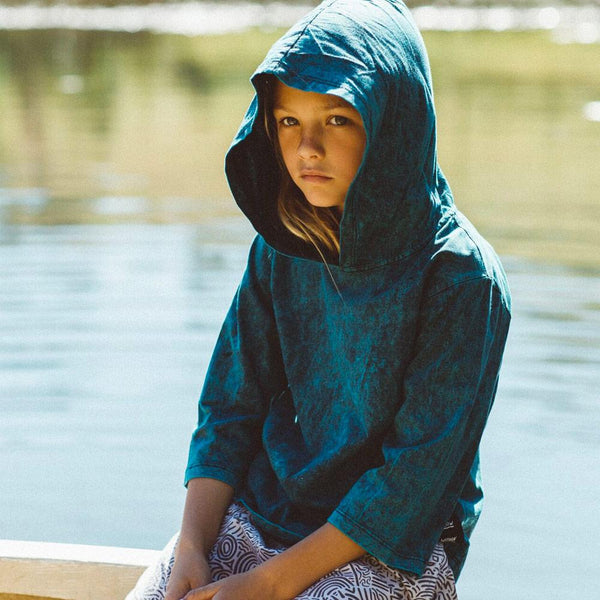 COVE HOODED TEE | WILD EARTH (Last One! Size 3-4yrs)