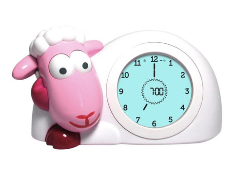 Zazu - Sam Sleep Trainer Clock  - Pink