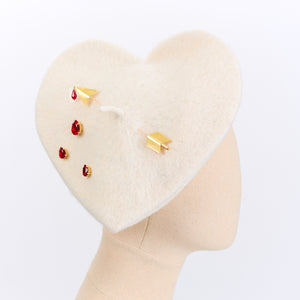 LULA BLEEDING HEART BERET<br />