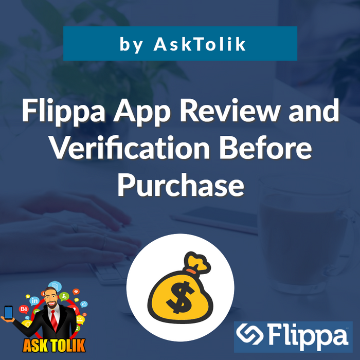 ✔️Flippa App Review and Verification Before Purchase - by AskTolik