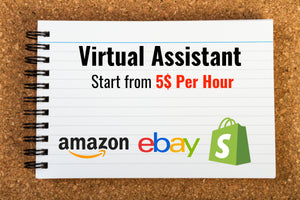 Ebay , Amazon and Shopify Trained Virtual Assistant Service By AskTolik