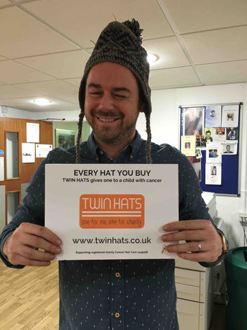 Eastenders star Danny Dyer (Mick) supports Twin Hats