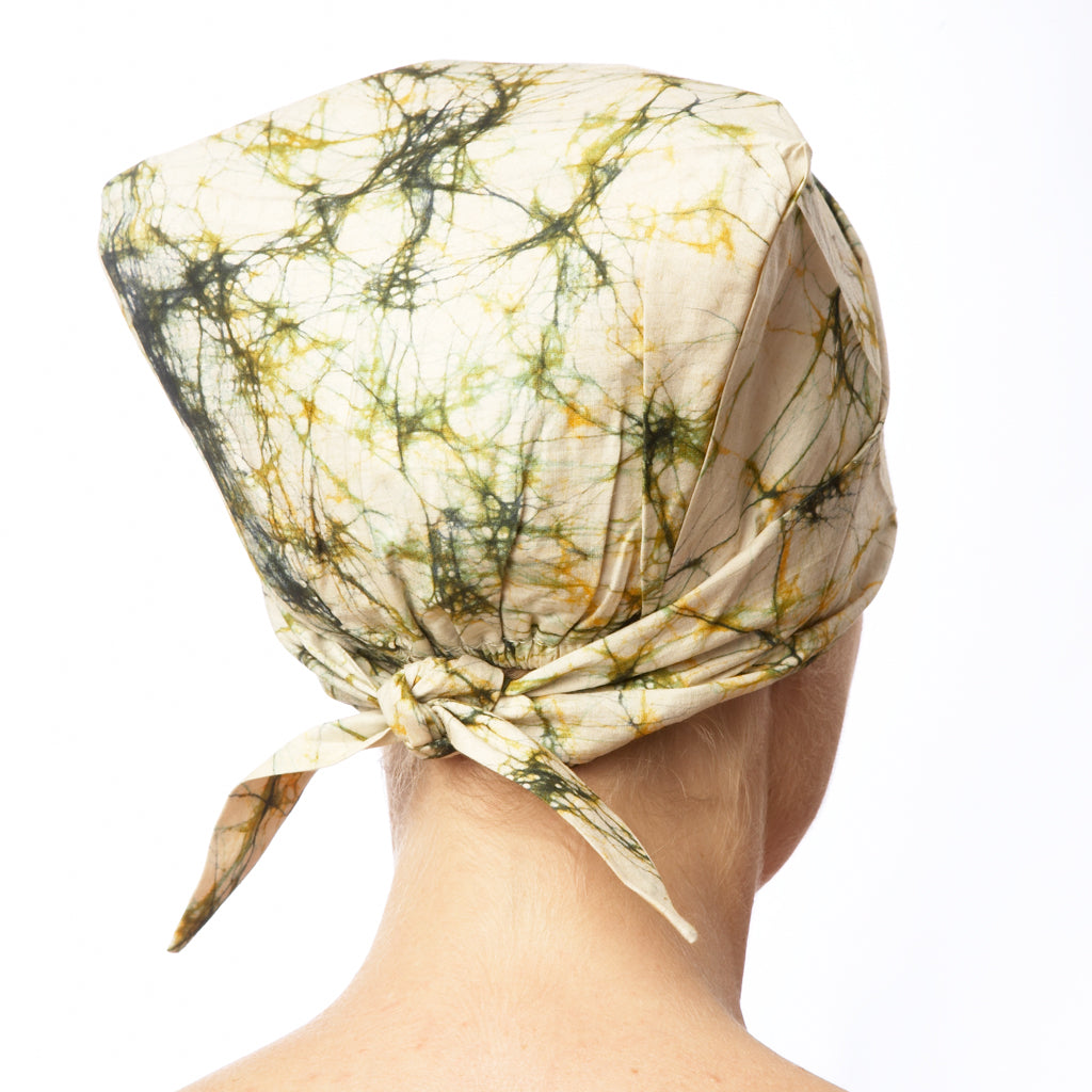 Batik Cotton Headscarf Splash