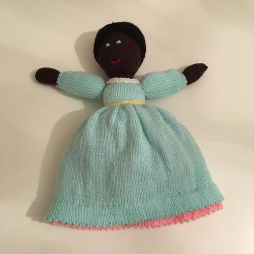 Knitted Topsy Turvy Dolly
