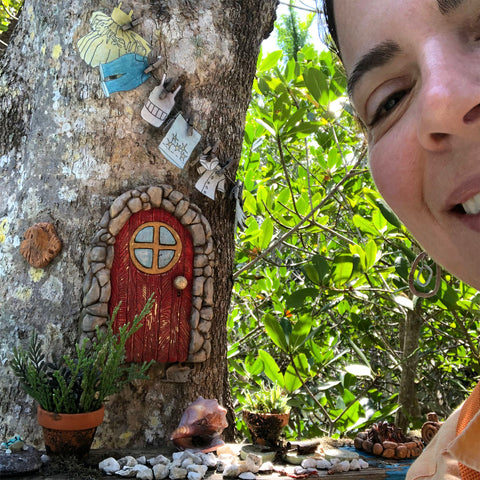 Fairy House at Leoma Lovegrove Gallery and Shop