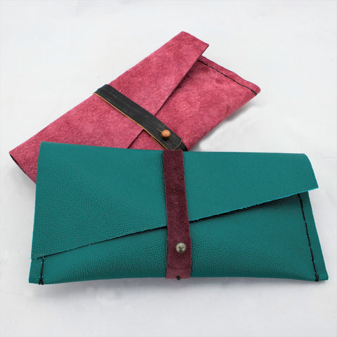 Leather Clutch Class